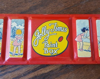 Jolly Times Paint Box 21 color set - with GREAT graphics