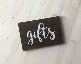 Gifts Sign (for weddings, parties, etc.)