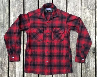 Vintafe Pendelton Wool Shirt, Size Small
