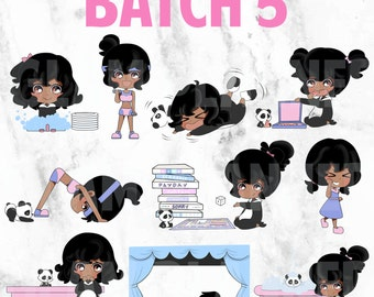 Batch 5 - Polka and Dot 01 (Kawaii Planner Stickers)