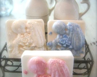Baby Bride & Groom Soap