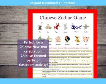 Chinese Zodiac Animals Game