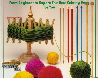 The Book of Knitting by Marinella Nava (1984, Paperback)