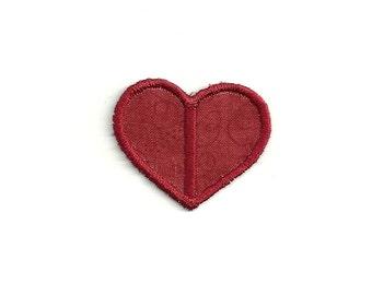 Tiny Heart Patch! Custom Made! AP94