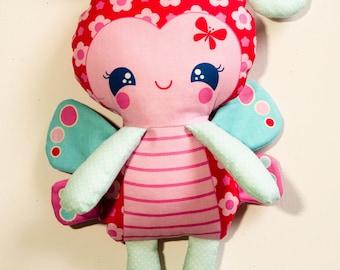 Handmade Butterfly Doll