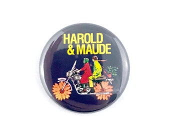 "Harold and Maude - 1"" Button Pin"