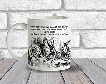 Alice in wonderland Mad Hatters Tea Party Mug