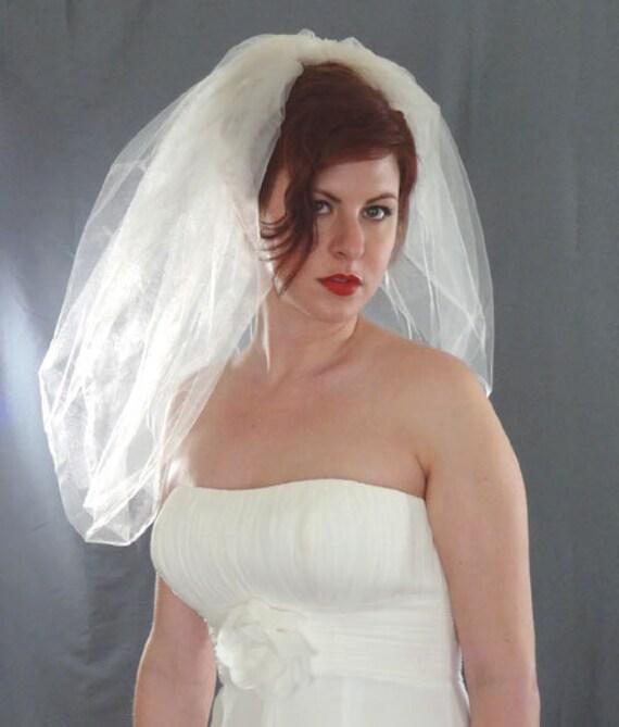 Bubble Veil Bubble Bridal Veil Short Veil