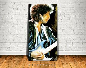 Bob Dylan Canvas High Quality Giclee Print Wall Decor Art Poster Artwork