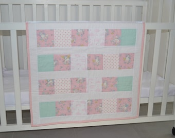 Unicorn Baby Quilt play mat