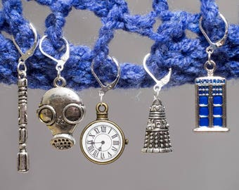 Dr Who Stitch Markers