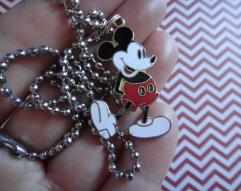 Super Cute Vintage Disney Mickey Mouse Custom Charm Necklace