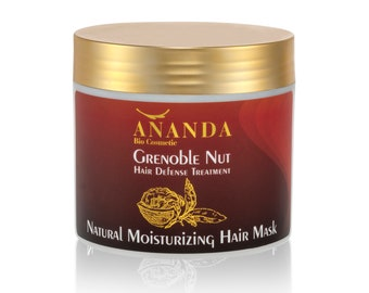 Natural moisturizing hair mask