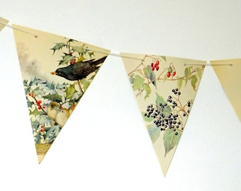 Christmas Garland, Holiday Garland, Christmas Bunting, Christmas decoration, Holiday Decor, Winter Bunting, Banner, Christmas wedding