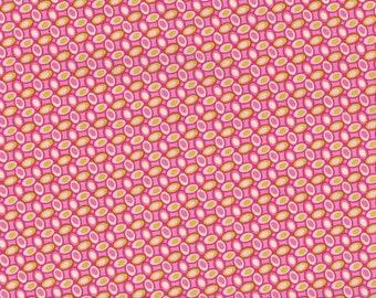 Heather Bailey • FRESHCUT Jelly Bean • pink • Cotton Fabric 0.54yd (0,5m) 001606