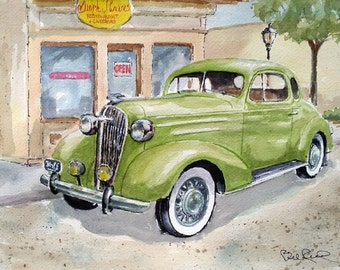 36 Chevy Coupe - art print