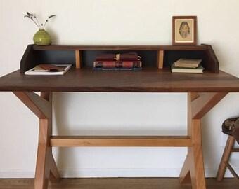 Ranchwood: Modern Walnut + Alder Writing Desk