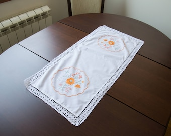 Wasillia Orange Flower Cloth
