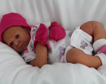 Full limbs silicone baby girl