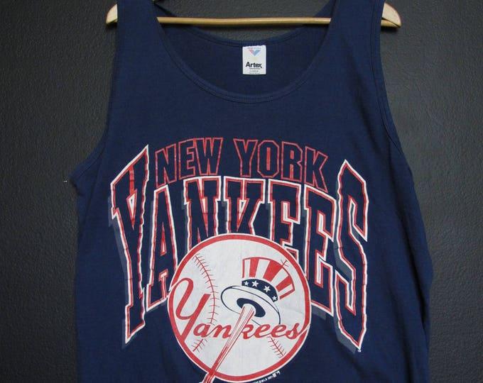 New York Yankees MLB 1991 vintage Tanktop