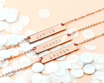 Maid Of Honor Gift Custom Coordinates Necklaces Mother Of The Bride Gift Custom Jewelry Wedding Gift Bride Gift - 4N *