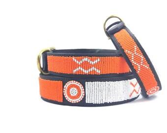 Beaded dog collars,Maasai beaded dog collars,Kenya beaded dog collars, dog collars,African dog collar