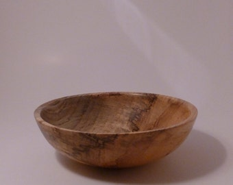 Wood Bowl Spalted Hackberry Wooden Bowl 28 Handmade