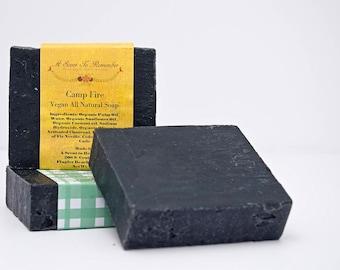 Camp Fire 85% Organic Soap(Vegan, All Natural)