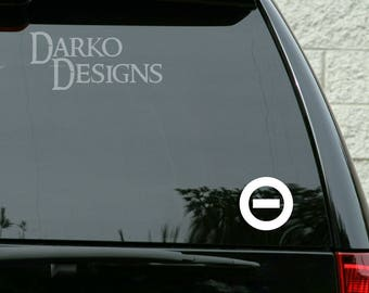 Type O Negative Band Inspired Car / Truck / Laptop/ Game Console / Indoor / Outdoor Vinyl Decal