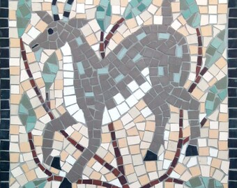 Star sign mosaic - Capricorn