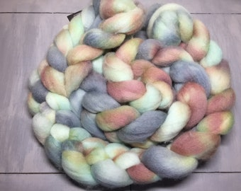 Home For Christmas - Hand Dyed BFL Roving