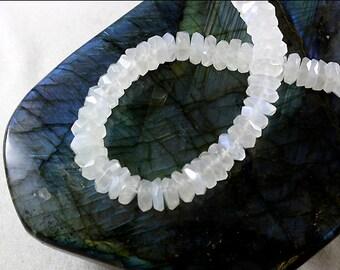 Moonstone Irregular Faceted Beads