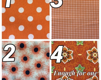 Fabric Choices ORANGE