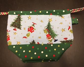 Tree-stealer Knitting/crochet Project bag