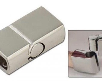 Leather Bracelet Connector - Metal Clasp - Slide Connector - Make Your Own Leather Bracelet