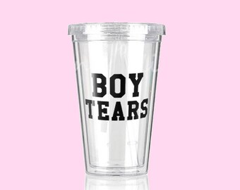 BOY TEARS | Double Wall Cold Cup Tumbler 16 oz