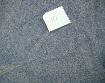 NO. 106 COUPON GRAY POLYESTER FABRIC