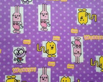 Wow Wow Wubbzy! Fabric