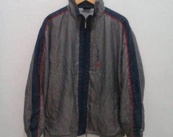 New balance windbreaker jacket colorblock sz large L vintage