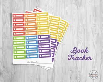 Book Tracker Quarter Box