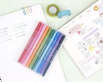 Rainbow Jell Pen set / 10 Colors / A set of 10 PCS / S-03 / 344553