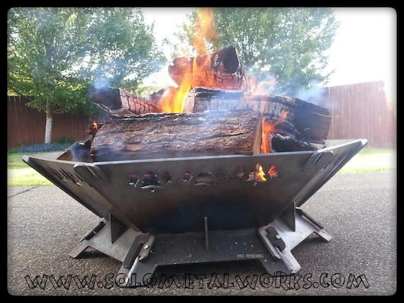 - 36 Hexagon .25 Steel Plate Modular Fire Pit Kit