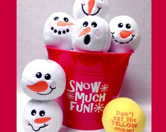 Snowball Fight Indoor Play Plush Toys