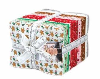 Sugar Plum Christmas Fat Quarter Bundle by Bunny Hill Designs for Moda. 2910AB