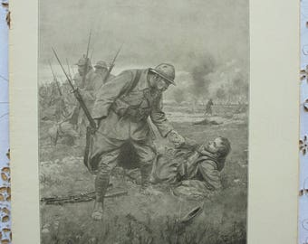 Antique French L'Illustration Magazine Issue No. 3791 - October 1915 with WW1 Images