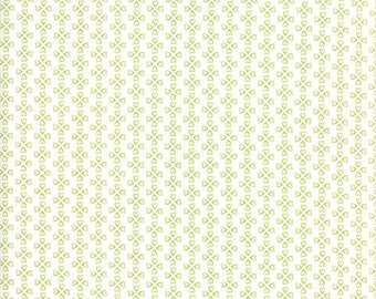 Mama's Cottage So Loved Light Green Vanilla Lime by April Rosenthal Prairie Grass Patterns Moda Fabrics 24055 25, orange quilting fabric