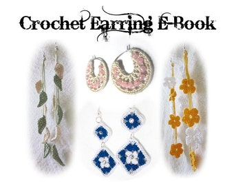 Crochet Earring Pattern eBook