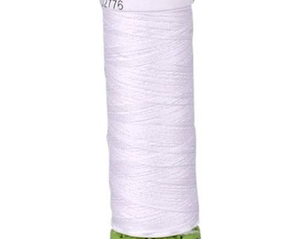 Nu White Gutermann Recycled Polyester Thread (GT800)