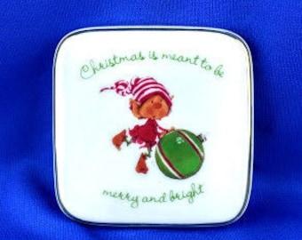 Christmas Elf Trinket Box
