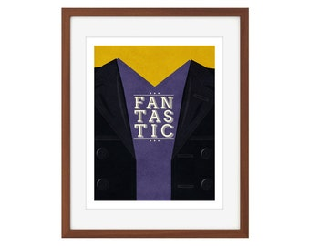 """Doctor Who print - the Ninth Doctor - """"Fantastic"""""""